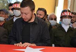 Irakın kuzeyinde şehit olan Uzman Çavuş Muhammet Fatih Durhan toprağa  verildi