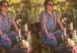 Johnny Depp Instagram hesabına 1 milyon takipçi