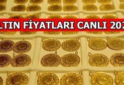 Altın fiyatları ivmesi ne durumda Gram altın düştü mü, yükseldi mi
