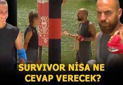 Survivor Sercan-Nisa konuşması Survivor Nisa ve Sercan aşk mı yaşıyorlar, olay nedir