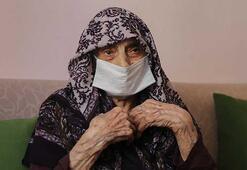 107 yaşında corona virüsü yendi