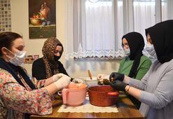 İstanbullu kadınlar da sağlık çalışanları için ev yemeği nöbetinde
