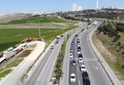 Corona virüs etkisi altındaki İstanbullulara tek şerit işkencesi
