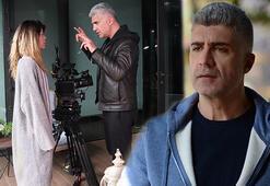 Özcan Deniz evini film setine çevirdi