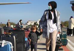 Hollandadaki 349 Türk vatandaşı Samsuna getirildi
