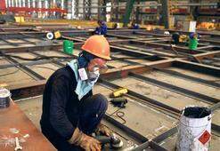 Tuzla tersanelerinde  53 işçi pozitif çıktı