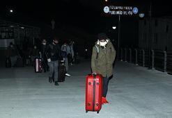 Ukraynadan 310 Türk vatandaşı Trabzona getirildi