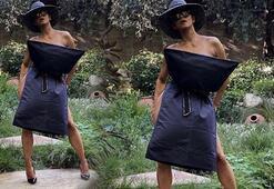Halle Berry, kalça hareketiyle dikkat çekti
