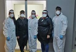 İşte corona virüs tanı merkezinin gönüllü savaşçıları İlk kez görüntülendiler