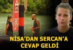 Survivor Sercan -Nisa konuşmasında neler oldu Survivor Nisa ve Sercan sevgili mi Nisa cevap verdi