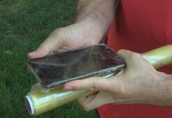 Virüse karşı cep telefonlarına streç film sarılmalı