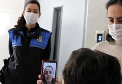 Sağlık çalışanı anneye sürpriz Gözyaşları sel oldu