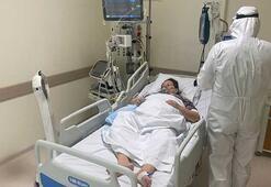 Coronalı hastalar bu robotla kontrol ediliyor