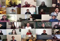 """Gönülden Gönüle Müzik Topluluğundan """"Evde Kal Türkiyem"""" şarkısı"""