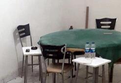 Tost ve ızgara salonuna kumar baskını 8 kişi yakalandı