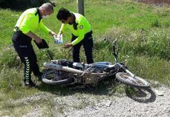 Polisten kaçtıkları motosikleti terk ettiler ama cezadan kurtulamadılar