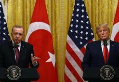 Cumhurbaşkanı Erdoğan, Donald Trump ile görüştü