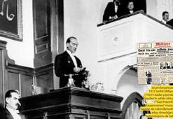 Mustafa Kemaltarihe geçen sözünü ilk kez sarf etti: Yurtta sulh cihanda sulh
