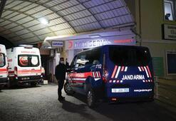 Edremit silahlı çatışmada 2 jandarma personeli yaralandı
