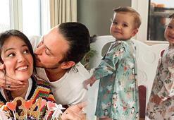 Pelin Akil ile Anıl Altanın ikizleri 1 yaşına girdi