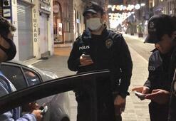 İstiklal Caddesinin ortasında müzik keyfi yarıda kaldı