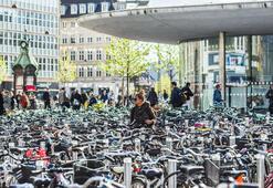 Şehir içi ulaşımda bisiklet kullanımı artıyor