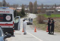 600 haneli köy karantina altına alındı, giriş çıkışlar yasaklandı