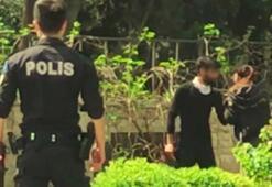 Antalyada genç kadın dehşeti yaşadı