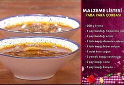 Para para çorbası nasıl yapılır,tarifi nedir Gelinim Mutfakta para para çorbası malzemeleri