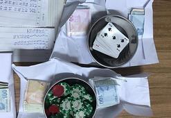 Edirnede derneğe baskın 6 kişiye kumar ve sosyal mesafe cezası