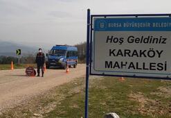 Bursada Karaköy Mahallesi karantinaya alındı