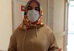Corona virüsü yenen hemşire, taburcu oldu