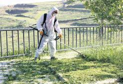 Mahallelerde bahar temizliği yapılıyor