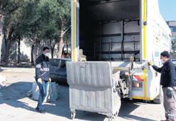 5 bin konteynere otomatik yıkama