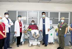 Ege Üniversitesi'nde plazma tedavisi başladı
