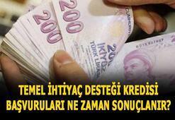 10 bin TL temel ihtiyaç desteği kredi başvuru ekranı, sonuçlar ne zaman açıklanır Vakıfbank, Halkbank ve Ziraat Bankası kredi sorgulama ekranı