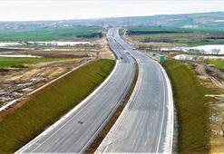Kuzey Marmara Otoyolu yıl sonu bitirilmeye çalışılıyor