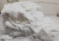 Ümraniyede 2 bin 750 adet sahte maske ele geçirildi