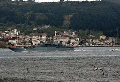 Rus savaş gemisi Novocherkassk, Çanakkale Boğazından geçti