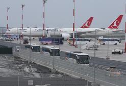 Romanya ve Kırgızistandaki Türk vatandaşları İstanbula geldi
