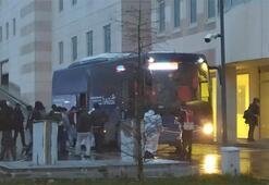 Kırgızistandan gelen Türkler öğrenci yurdunda karantinaya alındı