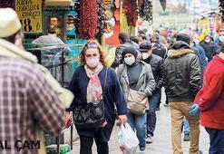 Yasak ve ramazanla alışveriş yoğunlaştı