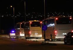 Türkiyeye getirilen Almanyadaki 232 Türk vatandaşı Niğdede yurda  yerleştirildi