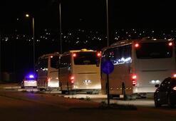 Almanyadan getirilen 232 Türk vatandaşı Niğdede yurda  yerleştirildi