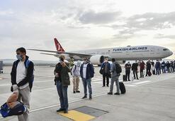 Bahreynden getirilen 62 Türk vatandaşı Gaziantepte karantinaya alındı