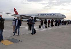 Bahreynden gelen 62 Türk vatandaşı, Gaziantepte karantinaya alındı