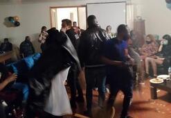 Büyükçekmecede doğum günü partisi 46 gözaltı