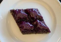 Şeker hastalarının yiyebileceği baklava üretildi - Mor baklava nedir