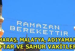 Kahramanmaraş, Malatya, Adıyamanda ilk sahur saat kaçta Diyanet 2020 Ramazan İmsakiyesi | Kahramanmaraş, Malatya, Adıyaman İmsak vakitleri