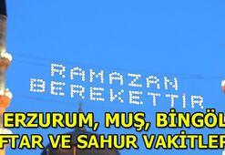2020 Erzurum, Muş, Bingöl Ramazan İmsakiyesi | Erzurum, Muş, Bingölde sahur saat kaçta Erzurum, Muş, Bingöl iftar ve sahur vakitleri